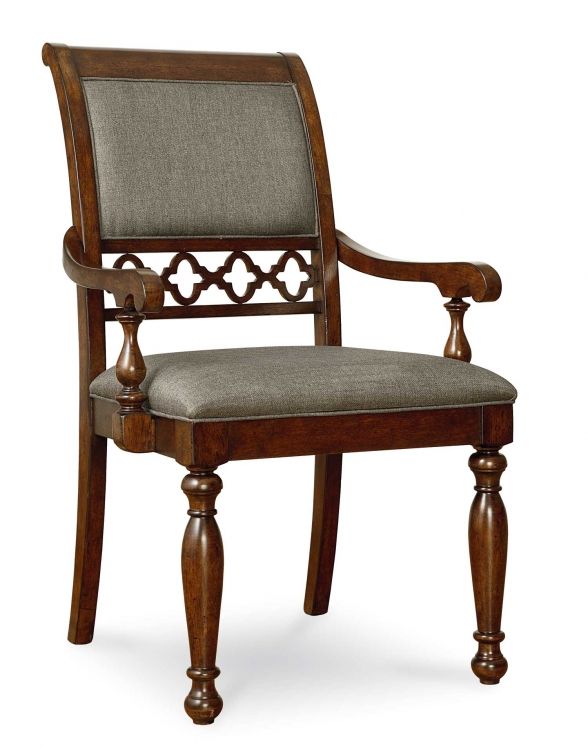 Thornhill Upholstered Arm Chair - Cinnamon