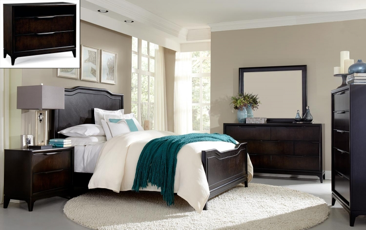 Palisades Panel Bedroom Set - Cola
