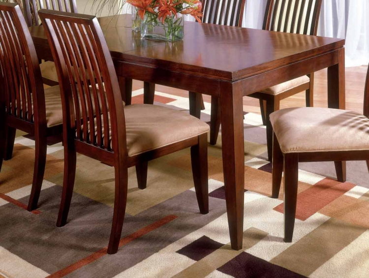 Vogue Casual Dining Leg Extension Table