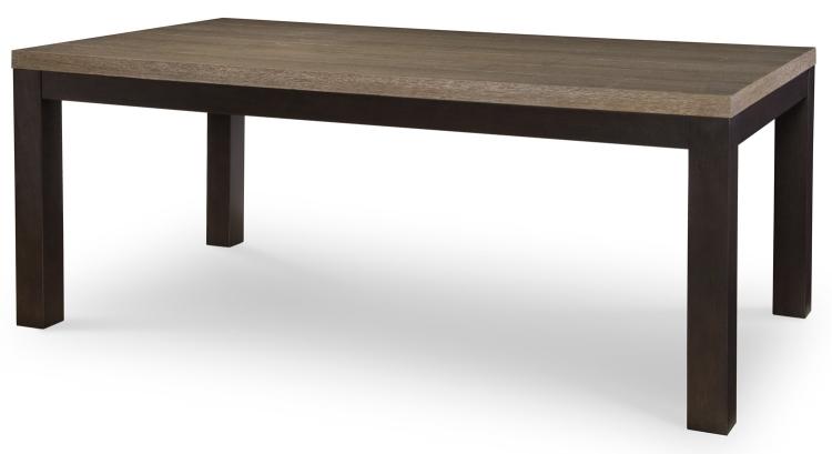 Helix Leg Table - Charcoal/Stone