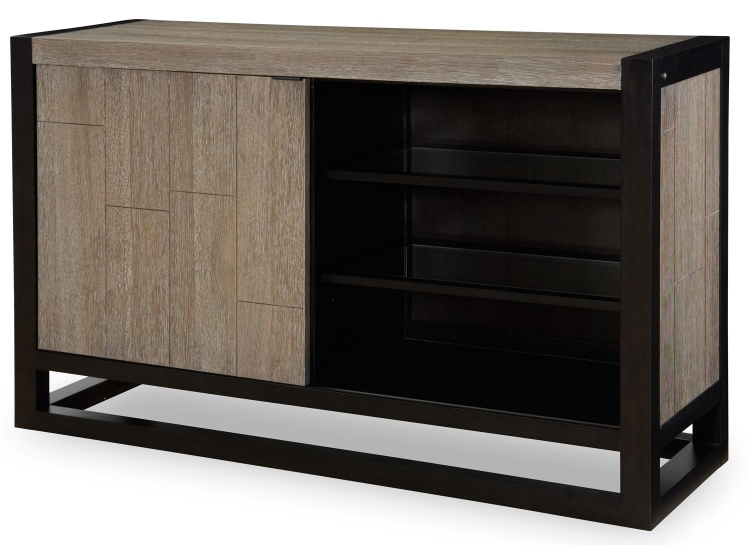 Helix Credenza - Charcoal/Stone