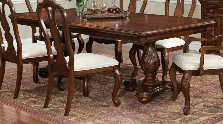 Foxborough Rectangular Double Pedestal Extension Table