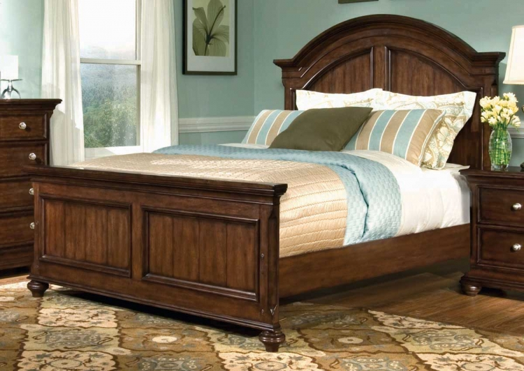 Canyon Creek Arched Panel Bed