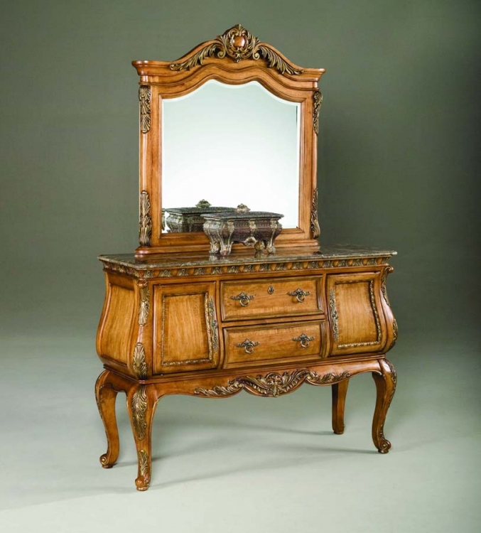 Versailles Sideboard with Mirror