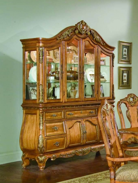 Versailles Buffet and China Hutch