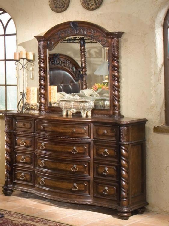 Conquistador Dresser with Mirror