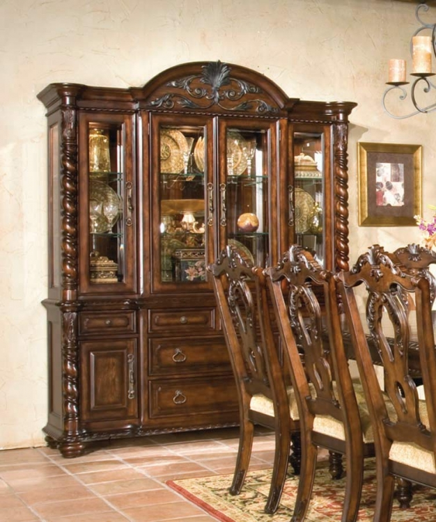 Conquistador Buffet and China Hutch