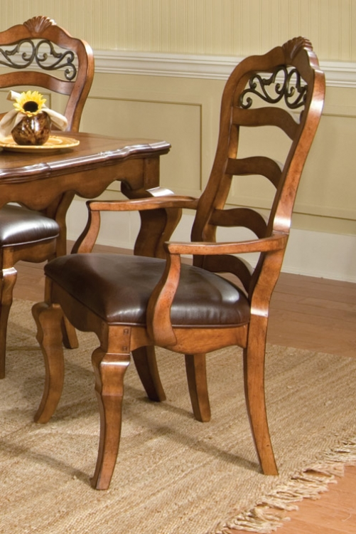 Orleans Ladder Back Arm Chair