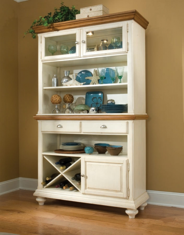 Dining a la Carte Credenza and Hutch