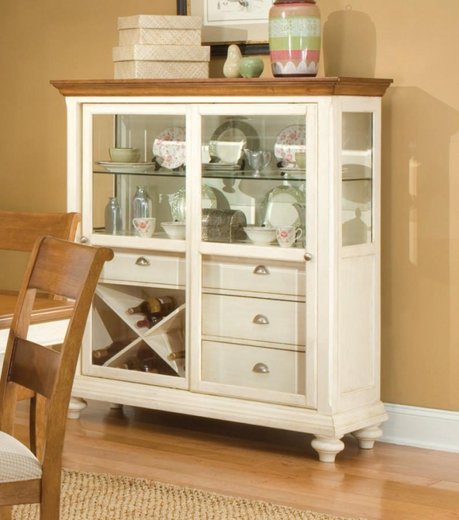 Dining a la Carte Cupboard with Sliding Door