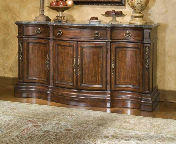 Tuscan Manor Storage Credenza
