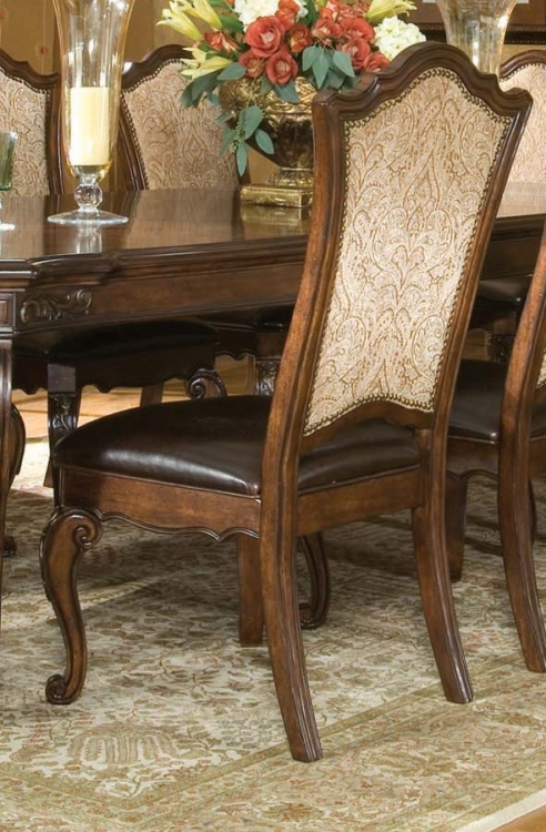 Tuscan Manor Upholstered Side Chair