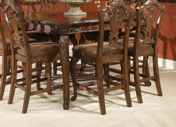 Tuscan Manor Pub Table