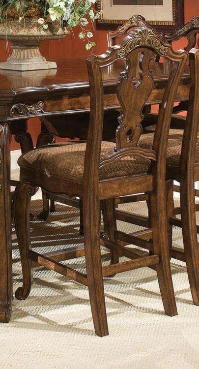 Tuscan Manor Splat Back Pub Chair