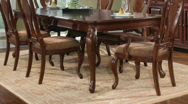 Heritage Court Rectangular Leg Extension Table