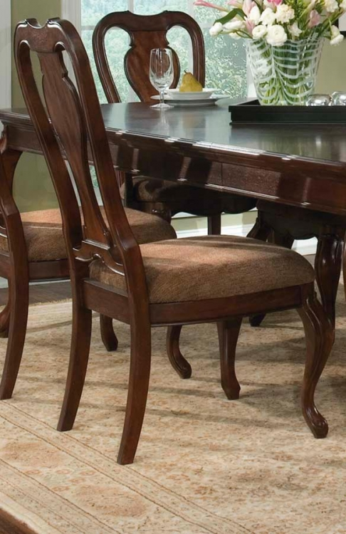 Heritage Court Queen Anne Side Chair - Legacy Classic