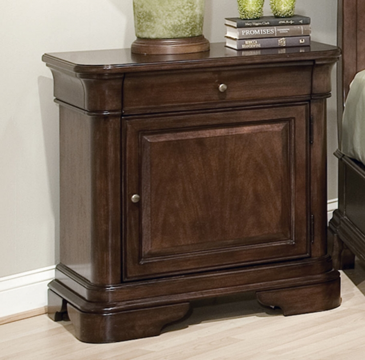 Heritage Court Night Stand with Door
