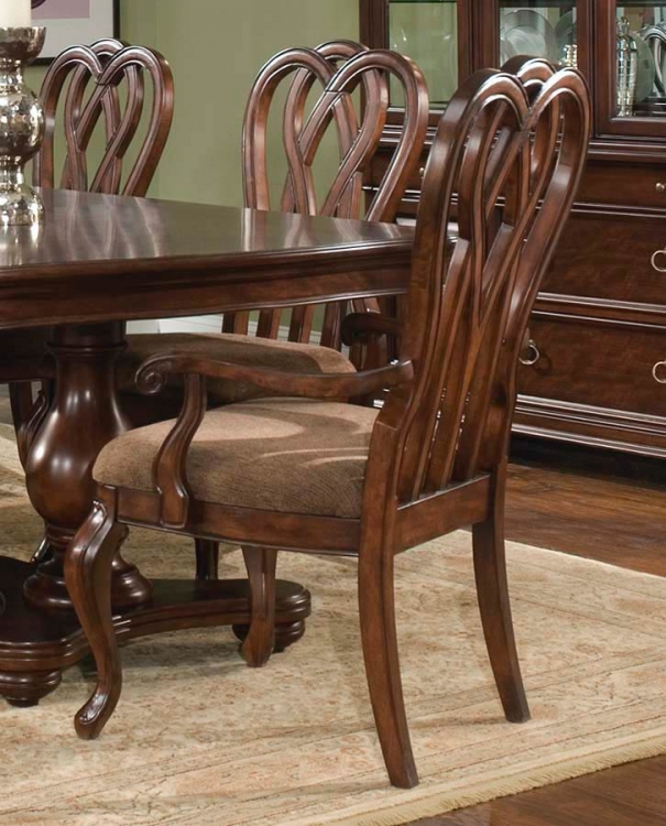 Heritage Court Ribbon Back Arm Chair