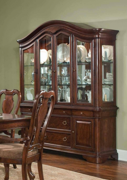 Heritage Court Buffet and China Hutch - Legacy Classic