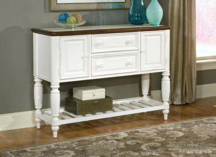 South Hampton Sideboard with Marble Top
