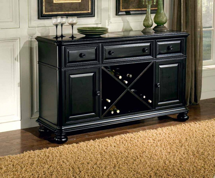 North Hampton Credenza with Marble Top
