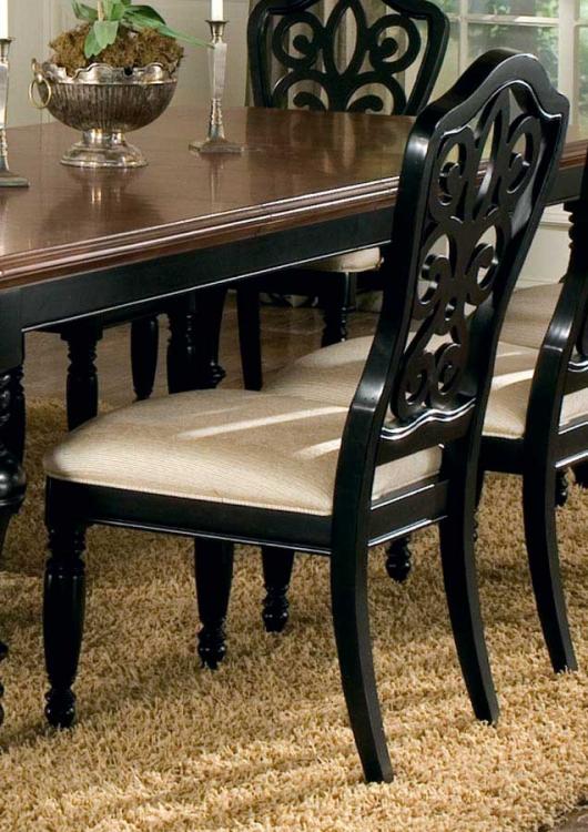 North Hampton Pierced Back Side Chair
