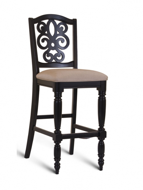 North Hampton Bar Height Pierced Back Chair