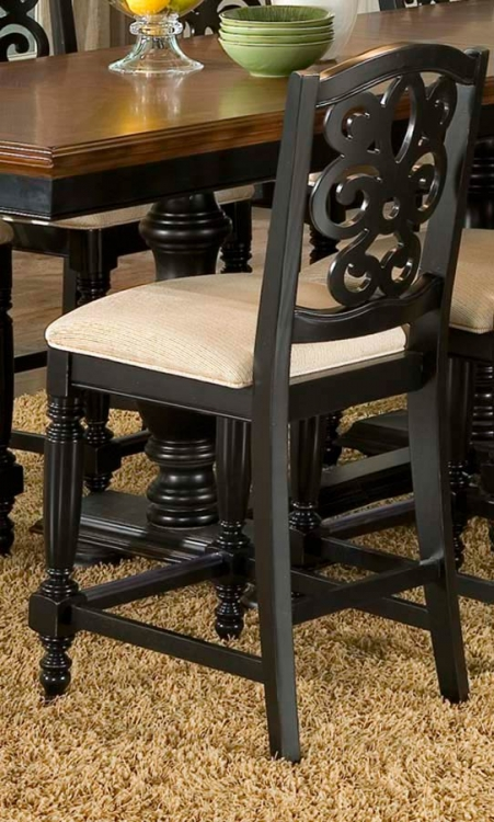 North Hampton Pierced Back High Dining Chair