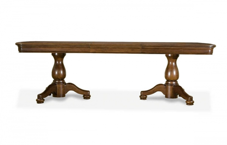 Evolution Rectangular Double Pedestal Table - Legacy Classic