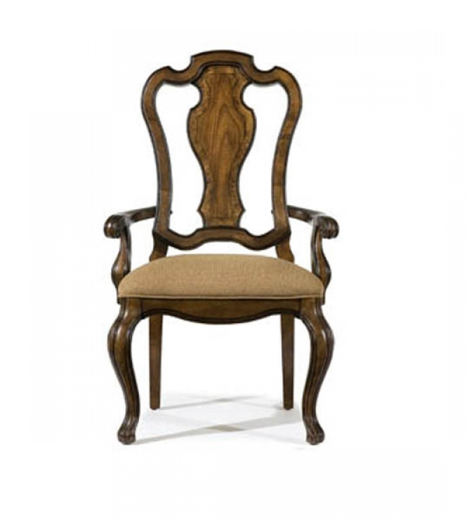 Rochelle Splat Back Arm Chair
