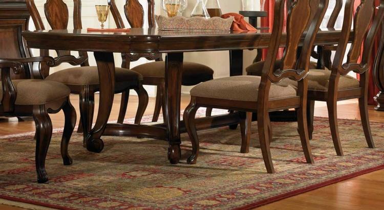 Rochelle Rectangular Pedestal Table