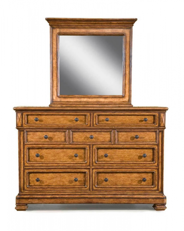 Larkspur Dresser with Rectangular Mirror - Legacy Classic