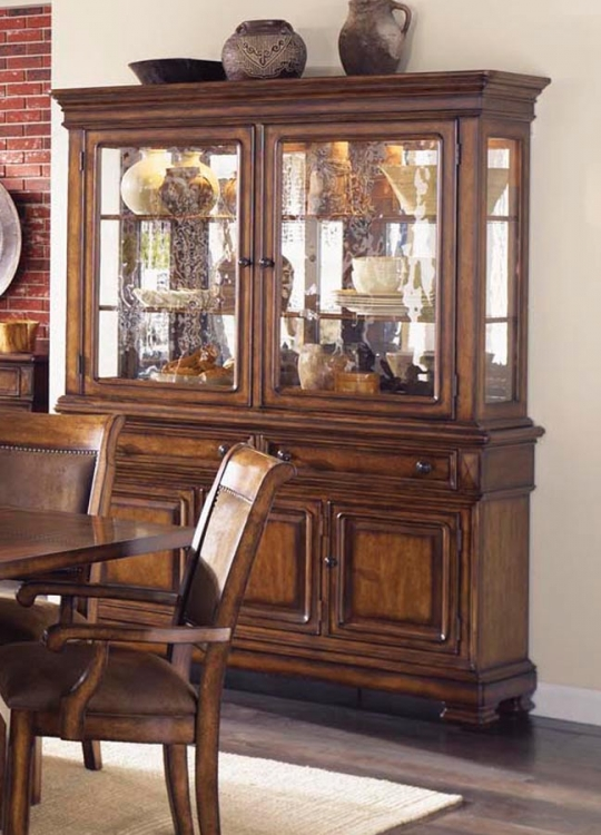 Larkspur Buffet and China Hutch - Legacy Classic