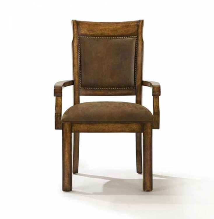 Larkspur Upholstered Back Arm Chair