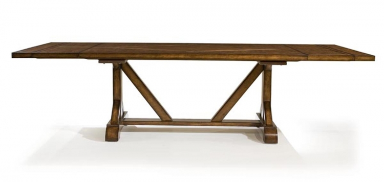 Larkspur Rectangular Trestle Table - Legacy Classic