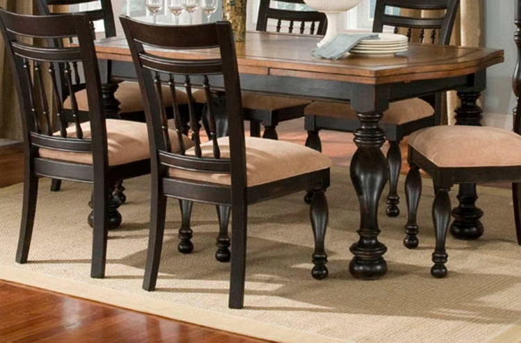 Banister Rectangular Refectory Dining Table