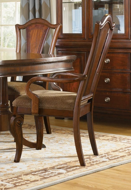 American Traditions Splat Back Arm Chair