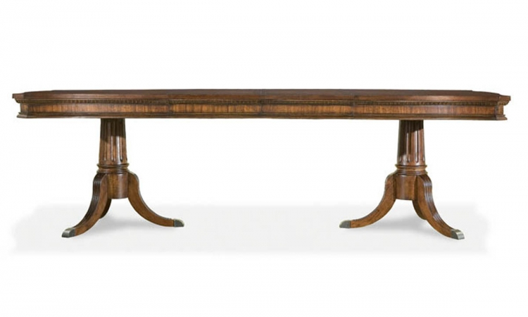 American Traditions Rectangular Pedestal Table