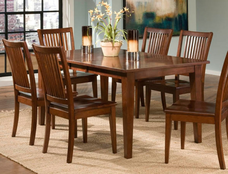 Newbridge Rectangular Leg Table - Legacy Classic
