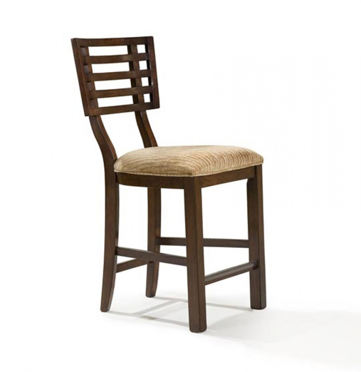 Perspectives High Dining Grid Back Chair