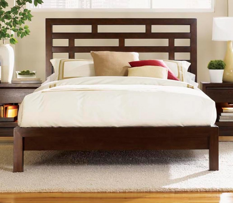 Perspectives Grid Platform Bed
