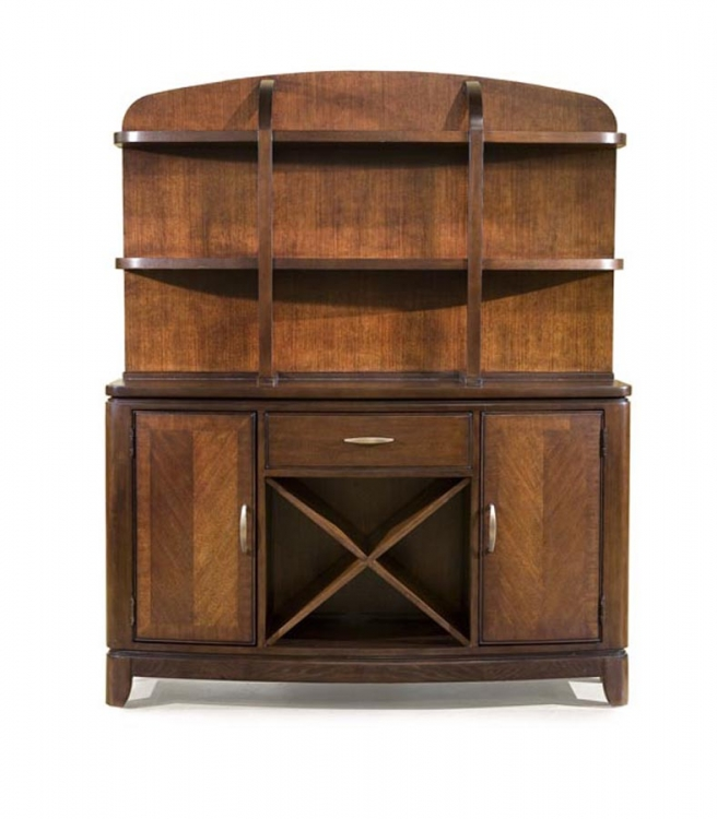 Boulevard Credenza with Hutch