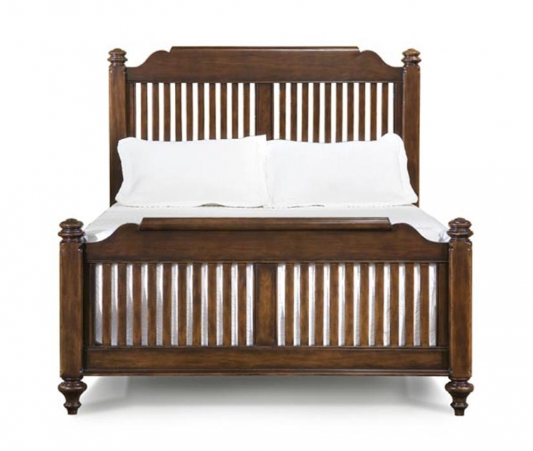 Chestnut Hill Low Poster Bed