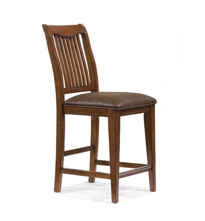 Autumn Park Slat Back Pub Chair