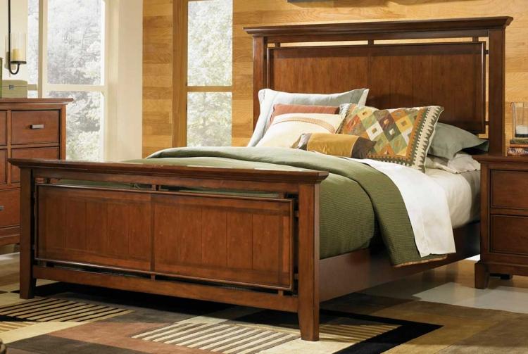 Autumn Park Panel Bed