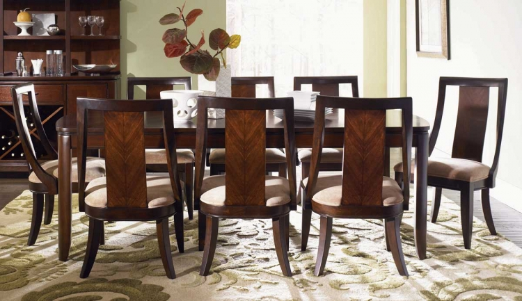 Boulevard Rectangular Leg Dining Collection - Legacy Classic