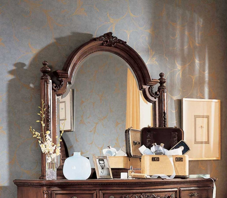 Jessica McClintock Heirloom Landscape Mirror-Lea Furniture