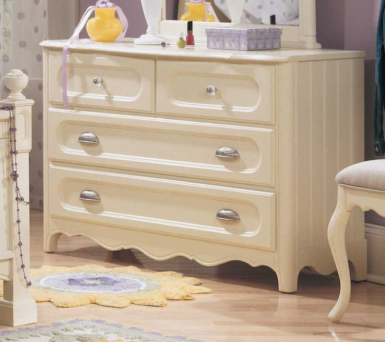 Summerset 4-Drawer Dresser- Furniture