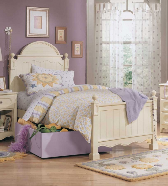 Summerset Panel Bed- Furniture