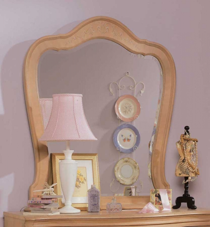 jessica mcclintock vintage vertical mirror furniture - Jessica Mcclintock Bedroom Furniture